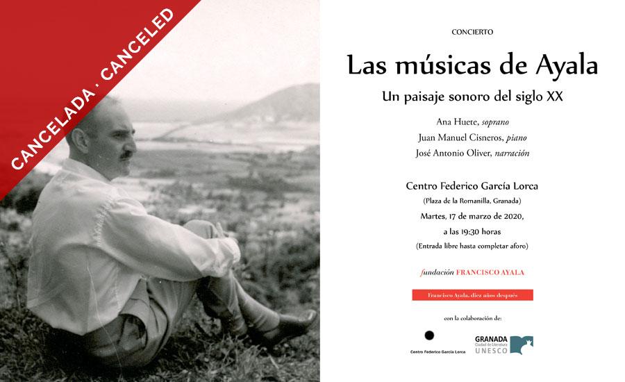 Las músicas de Ayala. Un paisaje sonoro del siglo XX