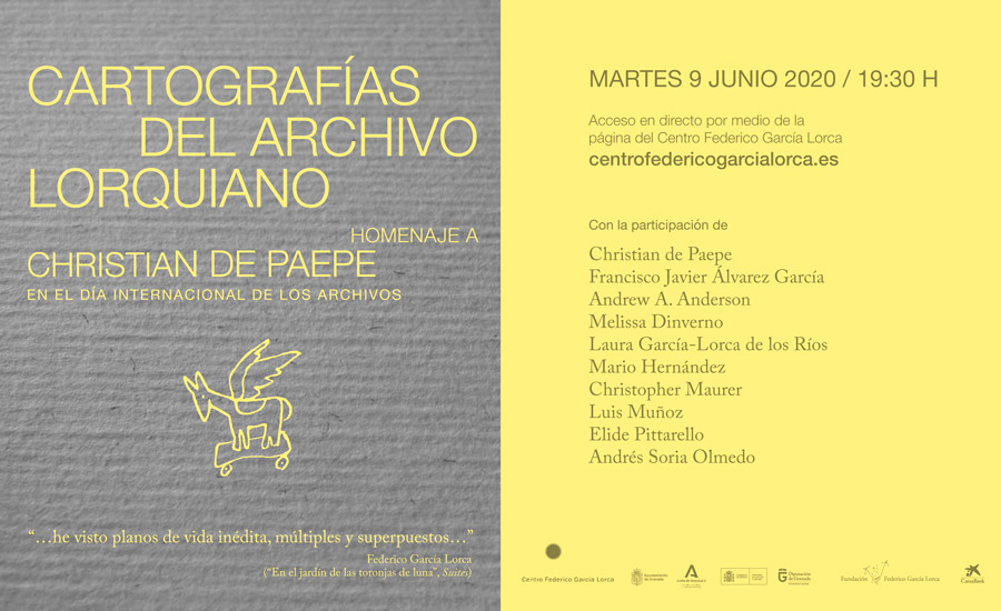Cartographies of the lorca archive
