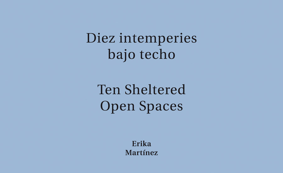 Ten Sheltered Open Spaces